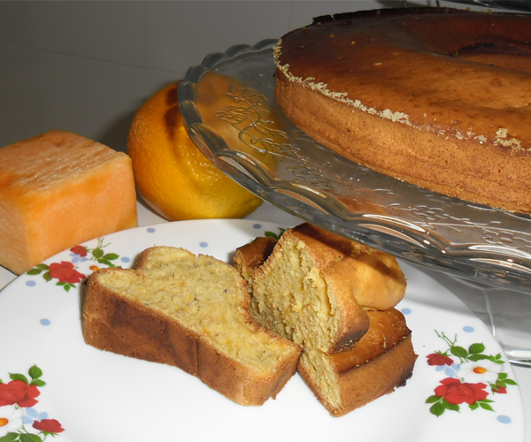 Açúcar dos dias # Bolo de laranja e abóbora