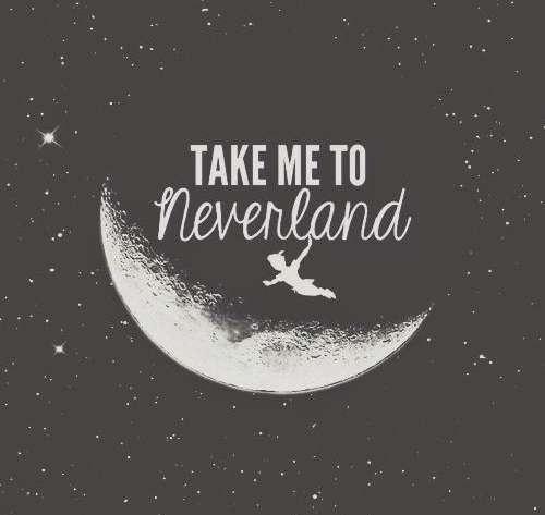 Never grow up…