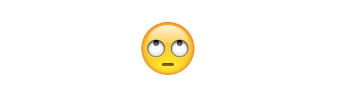 emoji-revirando-olhos