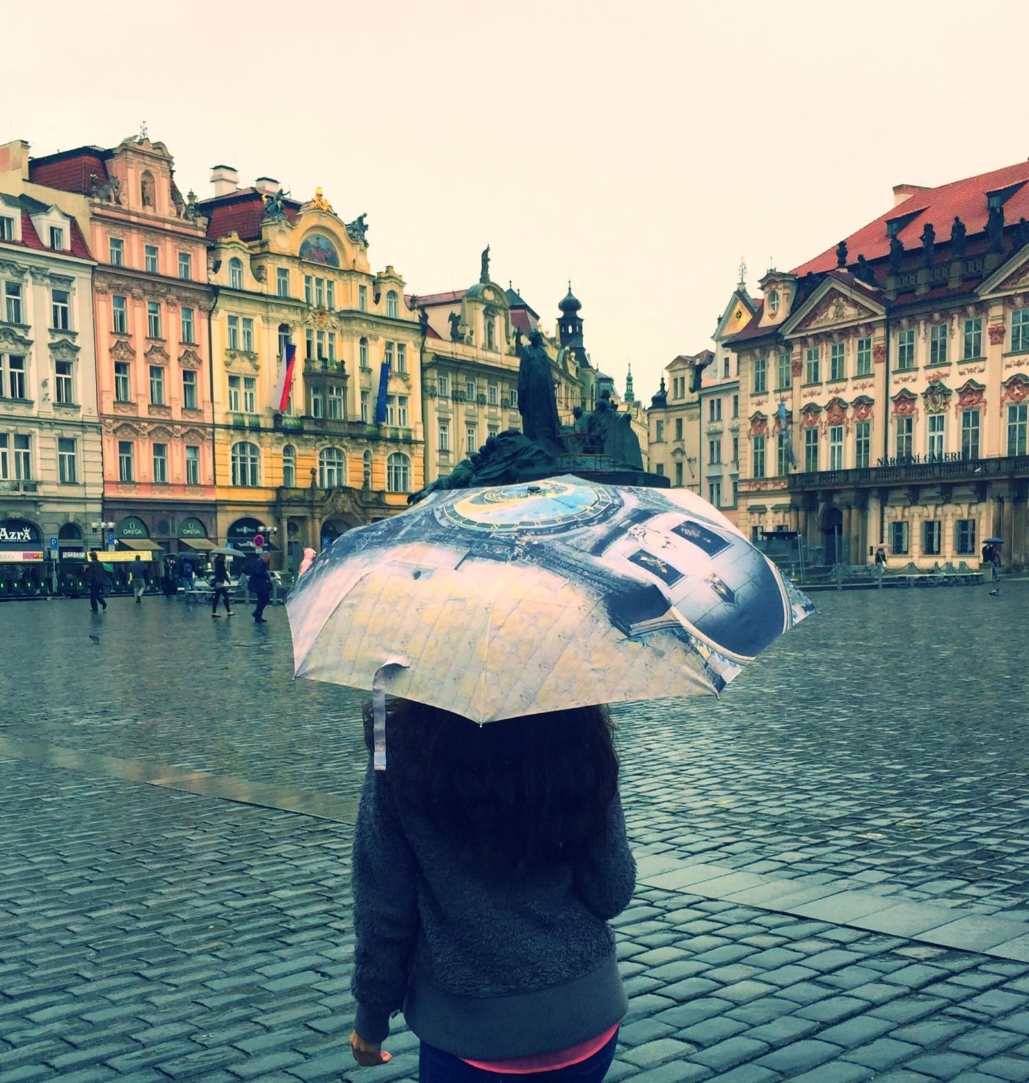 Começou a chover