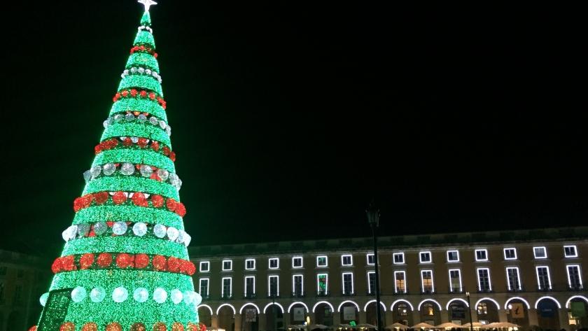 Natal no blog: luzes de Lisboa