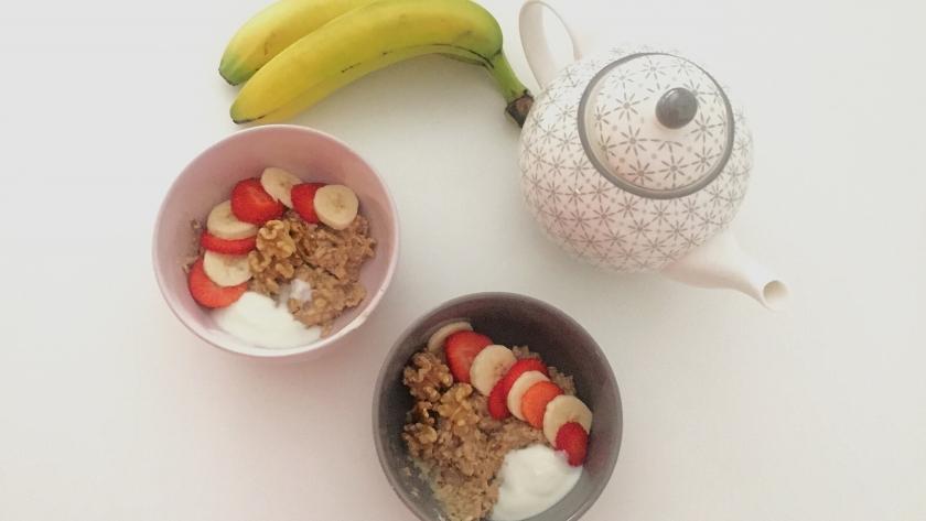 3 ideias para o pequeno-almoço