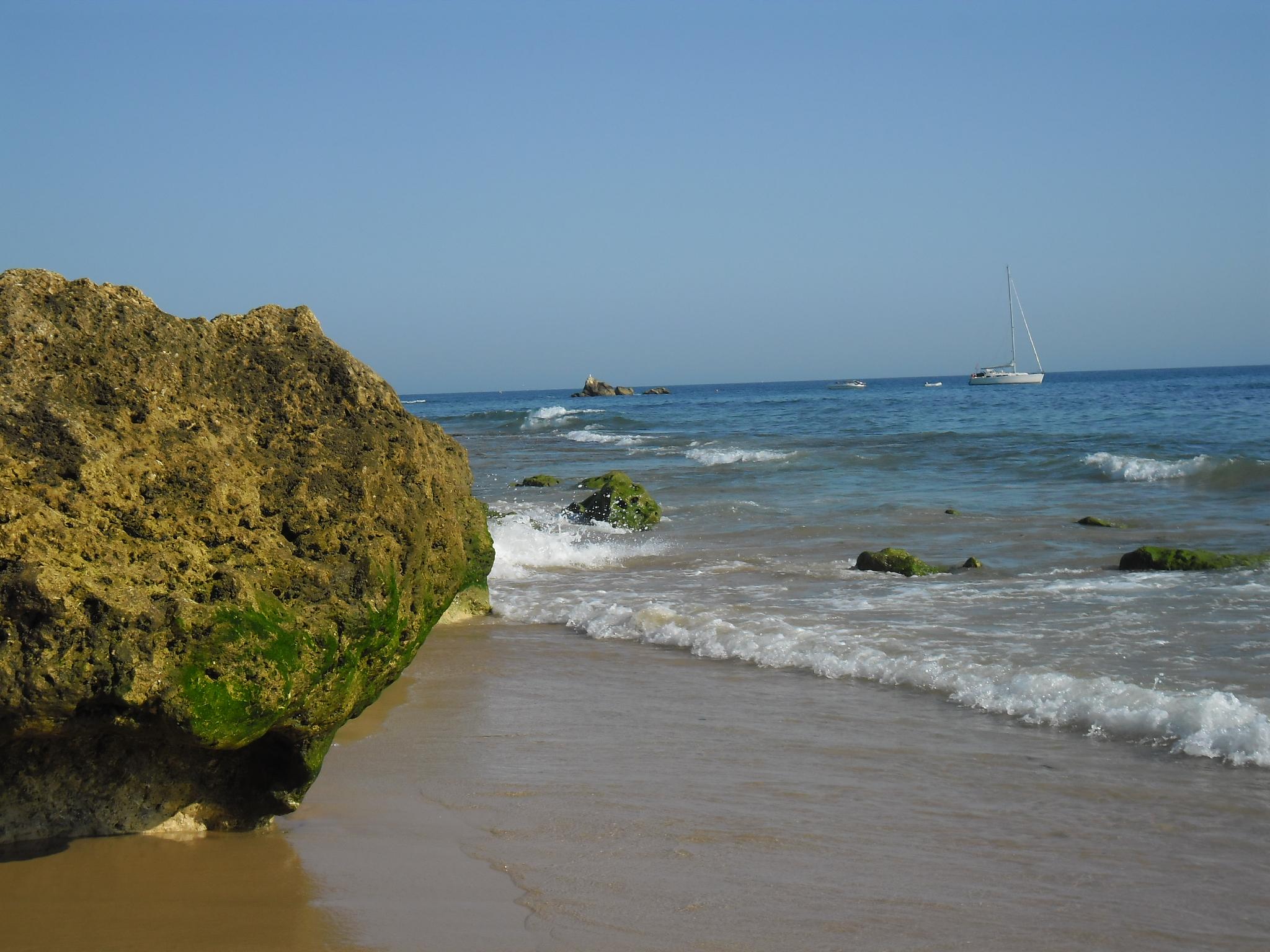 Praias belas do Algarve