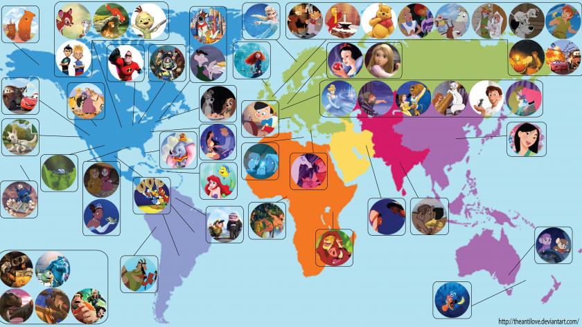 O mapa das histórias