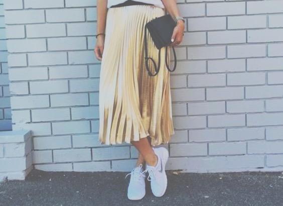 Vamos falar de moda? # Saias plissadas