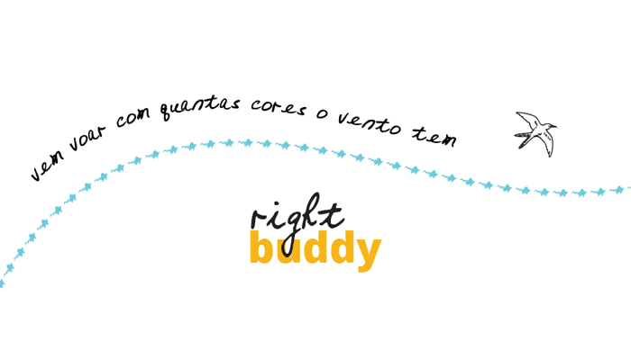 A kéké e a right buddy