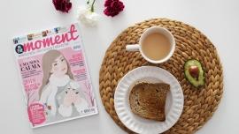 revista in the moment sobre mindfulness, criatividade e bem estar