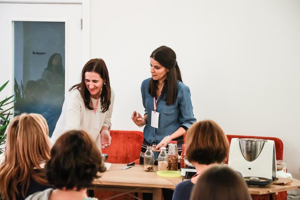 Vânia Ribeiro do Made by Choices no evento Blogging for a cause
