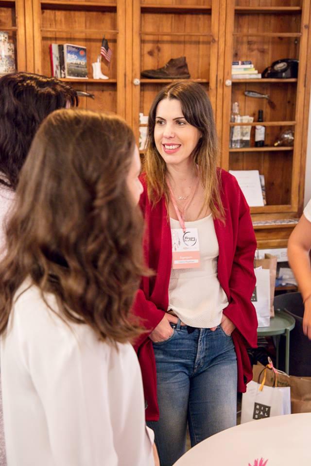 Helena Magalhães organizadora do Blogging for a cause