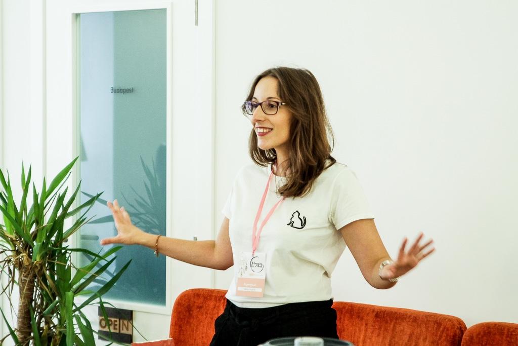 Vânia Duarte do blog Lolly Taste e organizadora do Blogging for a cause