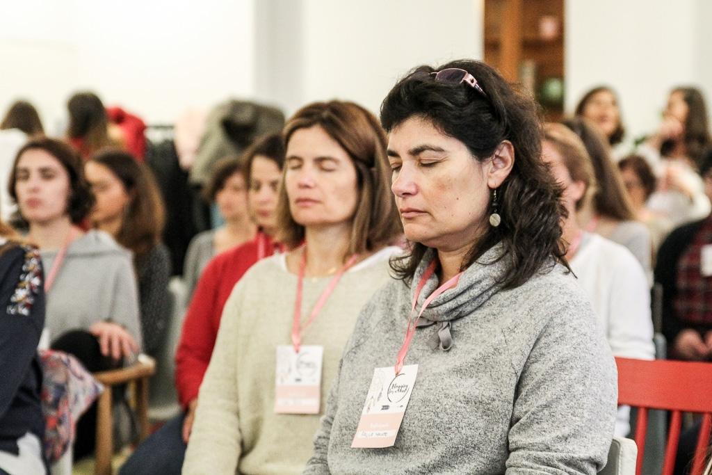 Participantes do evento solidário Blogging for a cause