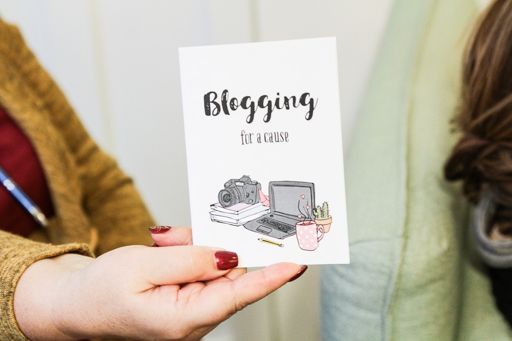 Caderno da nuts for paper para o blogging for a cause