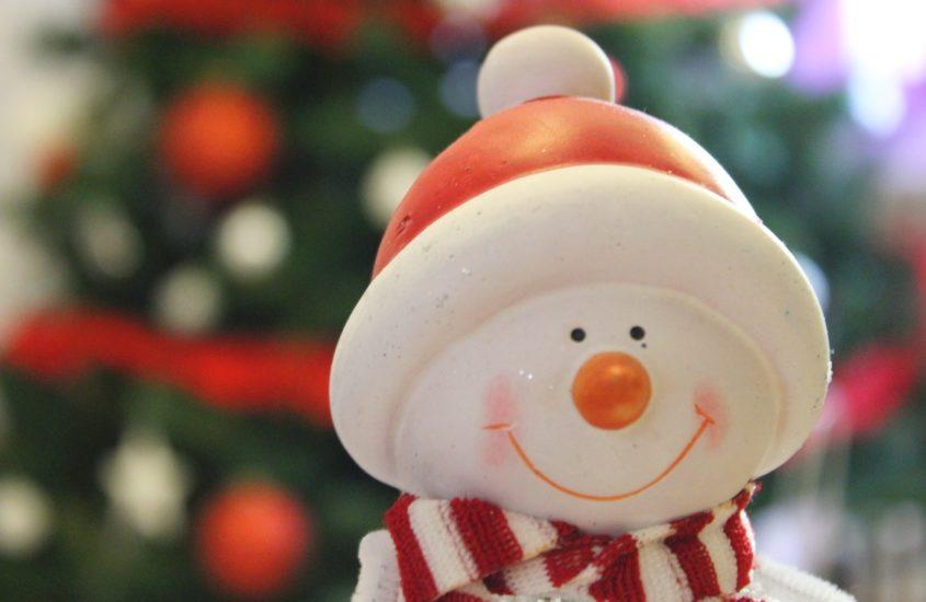 pai natal de neve