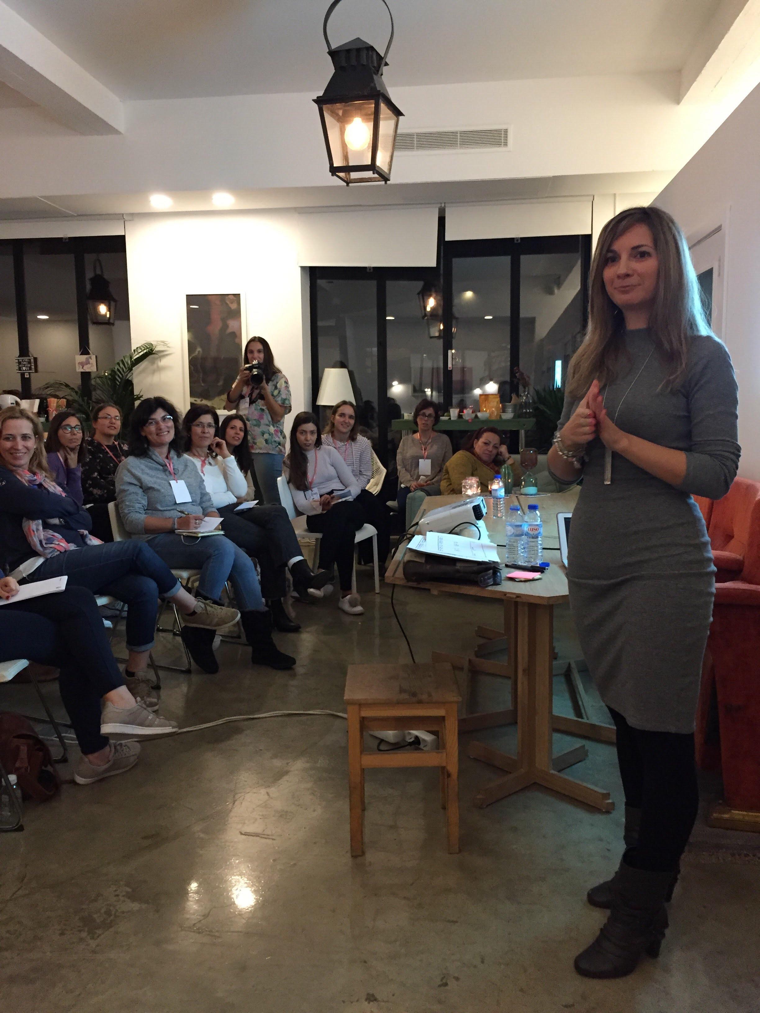 Jaqueline Silva sobre empreendedorismo no evento Blogging for a cause