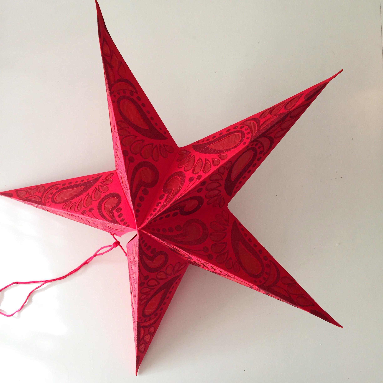 decorações de natal estrela