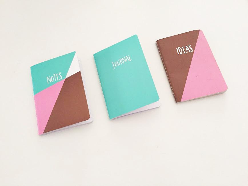 cadernos de notas da primark