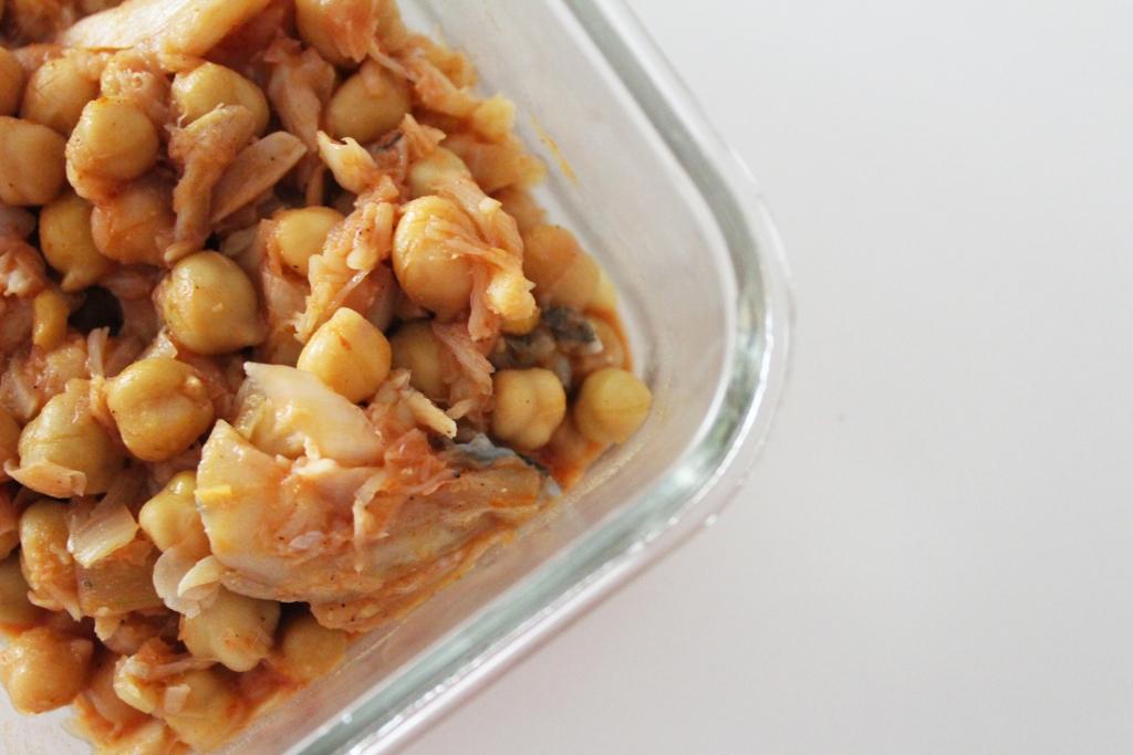 marmita de bacalhau com grão