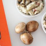 risotto de cogumelos