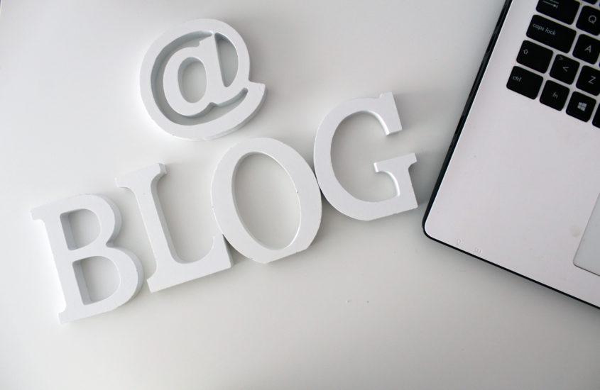 como sou enquanto blogger