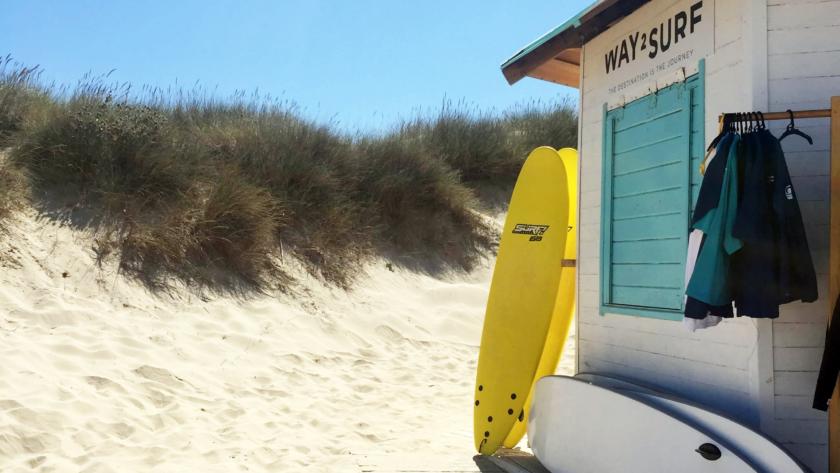 Surfistas, sem preocupações