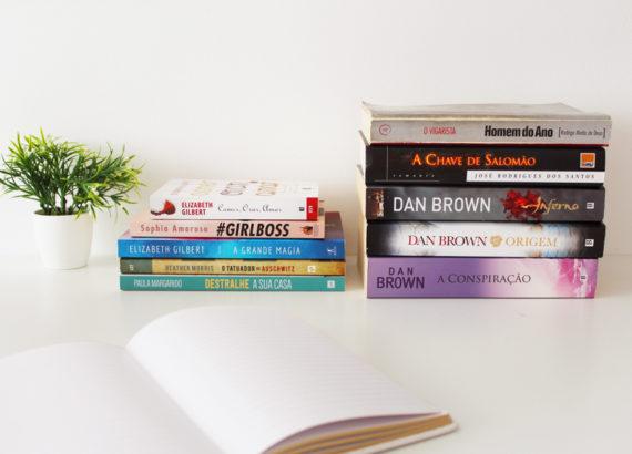 livros com temáticas actuais